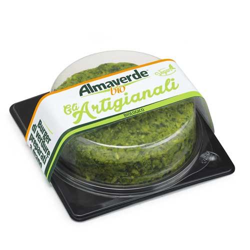 Burger di verdure verde Almaverde Bio