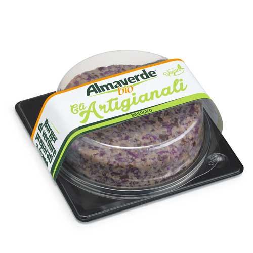Burger di verdure viola Almaverde Bio