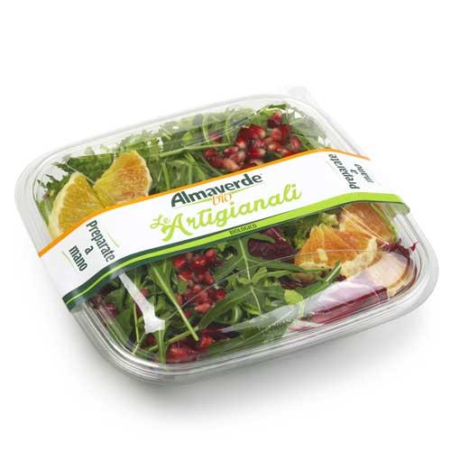 insalata foglie e frutta Almaverde bio