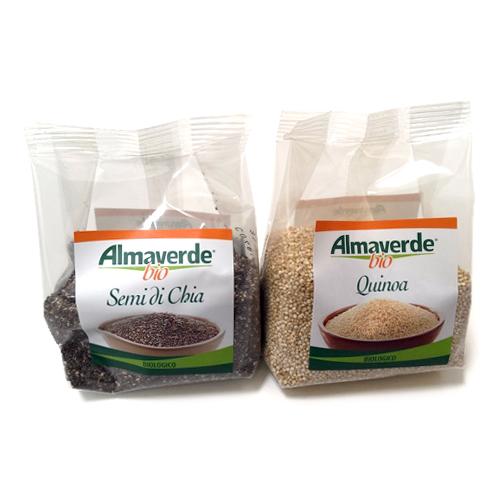 semi di chia e quinoa Almaverde Bio