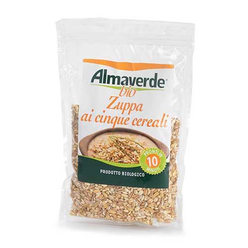 zuppa 5 cereali Almaverde Bio